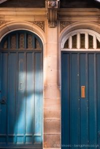 Blus doors & stone work