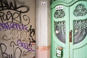 Budapest doorway, Fuji X100