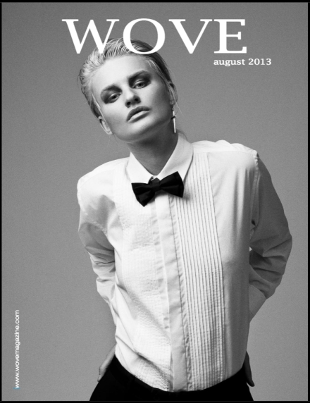 Wove Magazine Cover.