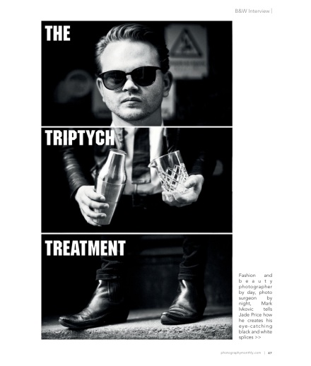 Photography Monthly Interview Mark Ivkovic, Leica photographer Triptychs project